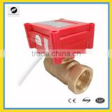 CWX-10 2 way electric motor operated control valve DN15 DC9V-24V, 220vac brass for electric control water treatment