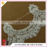 HC-2284-1 Hechun Pearl Beaded New Fancy Lace Bridal Trim for Wedding Dress                                                                         Quality Choice