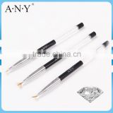 ANY Nail Art Starry Nails Building Cheap Mini Fan Fan Japanese Art Brush