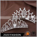 Wedding hair comb metal crystal pricess design wedding hair accessories