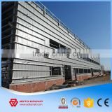 High Quality Light Design Q235 Steel Structure Prefab Famous Space Truss Roofing System Construction Building With Drawings