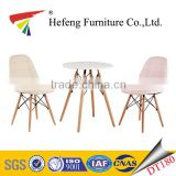 1+2 melamine MDF top coffee table with beech legs