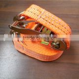 Hot selling ratchet tie down/ratchet straps polyester belt ratchet tie down/ratchet straps