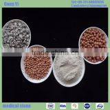 very cheap high quality medical stone lump/maifanite balls used in water purifier filter means