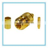 N female jack gender connector rf coaxial connector shenzhen supplier