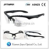 Z87.1 Clear lens plastic Safety Glasses