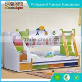 new design economical solid wood kids bunk beds