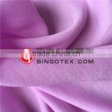 Polyester Composited Yarn Super Soft Hand Feel Moss Crepe Fabric for Women's Garments