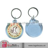 trade assurance supplier promotional custom acrylic photo frame keychain