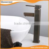 Factory Direct Antique brass basin mixer