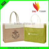 2016 Hot Sales For Promotion Imprint Customized Logo Jute Jewelry Pouch Jute Bag Wholesale