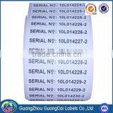 High quality customized request cheap barcode sticker printing self-adhesive labels stickers