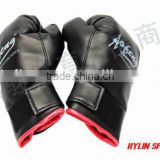 Leather Pro Fight Leather Boxing Gloves Gel Mold,Punch Bag