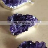 Wholesale amethyst cluster pandent quartz for accessories