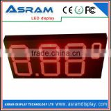 electronic board P16 gas station led price digital sign waterproof digital price tag gas station led price sign outdoor single
