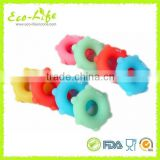Food Grade Sun shape Multi-Hardness Silicone Hand Grip Ring Exercise Ring for Strength Training