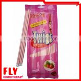 organic strawberry flavour powder candy