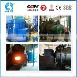 hot sale industrial automatic energy saving biomass factory used biomass briquette press machine and drum dryer for boiler