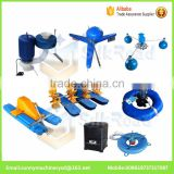 wholesale cheap aquaculture equipment pond surface aeration system|floating pond aerator