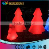 PE plastic Factory price fancy lighted giant outdoor led color change christmas tree