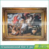 42 Inch Digital Photo Frame with Oil Painting for Wall Art