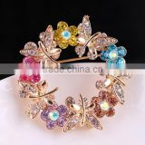 high quality Fancy Rhinestone Pins Brooches for woman /Hijab Pins Scarf Pins Female Pashmina Brooches