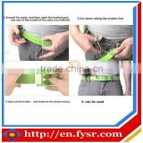 Colorful Golf Silicone Belts for man