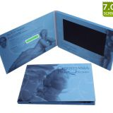 Low price A5 size 7 inch LCD Video Brochure/video greeting card/video book/video business Made In China for advertising