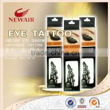 Eye Rock Crystal Eye Tattoos Eye Shadow Makeup Sticker for Female