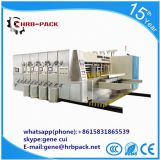 high speed flexo printing slotting die cutting printing machine