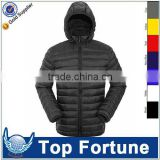 Provide OEM service winter women ultra light down jacket