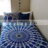 Indian Duvet Cover Elephant Mandala Quilt Covers Throw Doona Cover With Pillow Covers