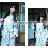 Chinavictor Manufacture 100% Cotton Adult Free Size Japan Pajamas