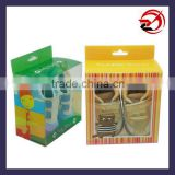 baby shoes packaging clear box