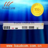 Baudcom supply 16 channel FXO FXS phone voice fiber multiplexer at soonest delivery time