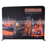 Metal Extrusion Frame Backdrop Stand System Tension Fabric Pop Up Display For Trade Show Exhibition