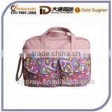 microfiber baby cute diaper bagsWaterproof Baby pink baby Diaper Bags For Girl