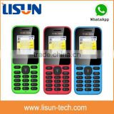"best selling 1.77"" small size very low price gsm China mini cell phone with whatsapp facebook in Dubai"