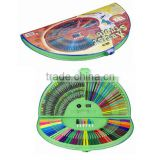 Stationery Set 132PCS (semicircle) Sets                                                                                                         Supplier's Choice