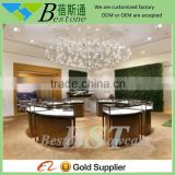 luxury round used mall jewelry kiosk for sale