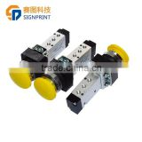 Yellow ink prime valve for flora lj 320p polari printer,ink pressure button for flora printer