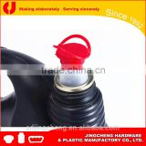 Hot sale 42mm ring pull bottle cap with plastic pull up spout caps in Africa