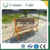 Complete range of colors and designs WPC garden bench