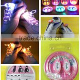 Fourth-generation LED shine shoelaces glow laces gifts outdoor sports party supplies promotional flashing shoelace