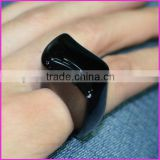 RG1041 Fashion Natural Black Agate Onyx Ring,New style Ring