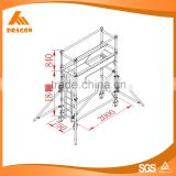 OEM manufacture New Design scaffolding types and names