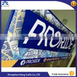 Outdoor wall advertising pvc vinyl banner, vinyl sign banner with customized printing