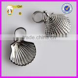 Fine Jewelry 925 sterling silver european beads wholesale Seashell charm jewelry findings