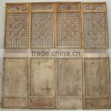 Chinese Antique Carving Wooden Screen Door                                                                         Quality Choice