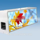 Free Samples electronic led taxi roof top advertising sign display/waterproof taxi display